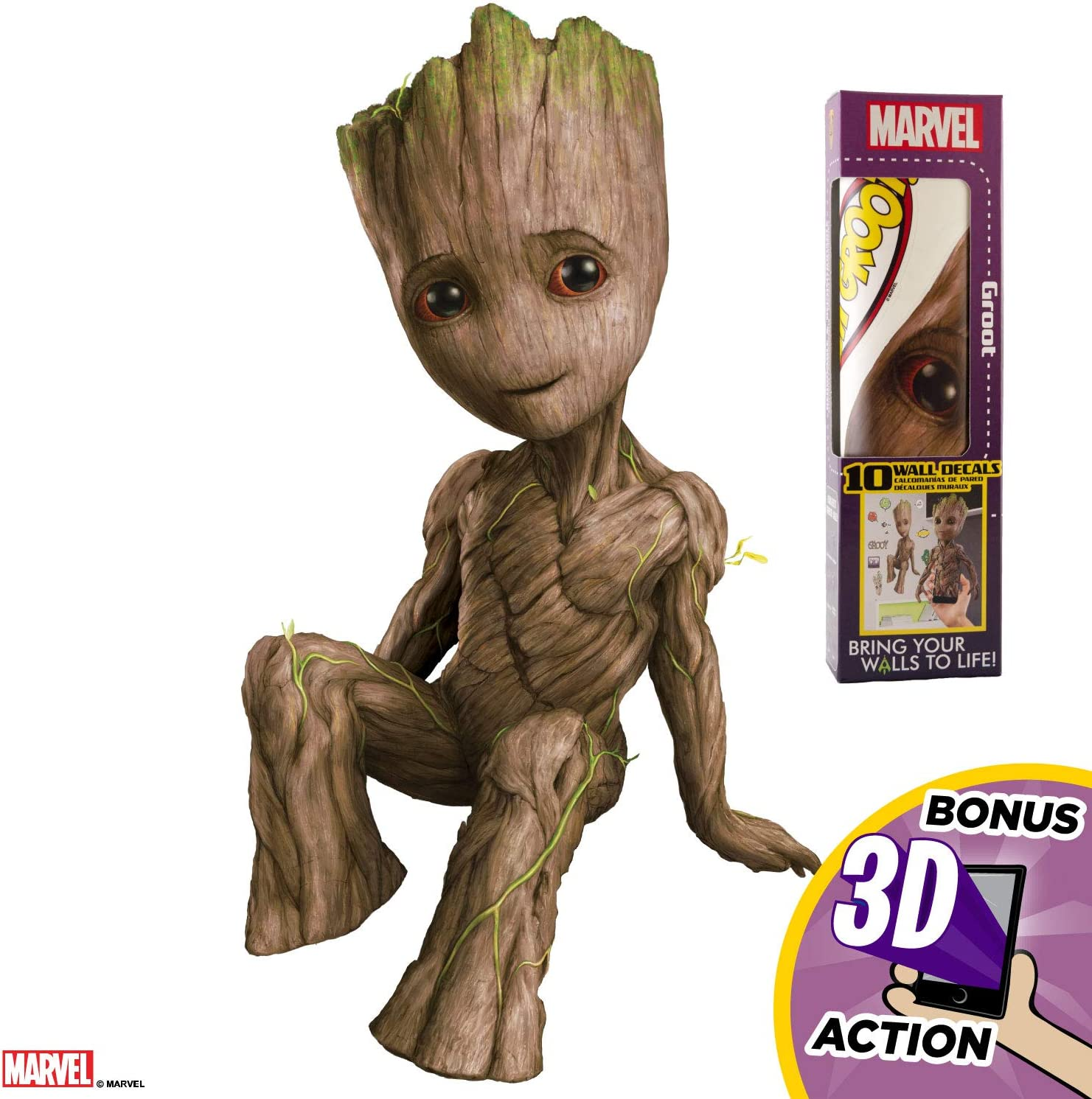 Decalcomania Guardians of the Galaxy Groot 15
