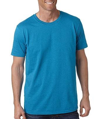 a7ff4f642 Gildan Men's Softstyle Ringspun T-shirt - Small - Antique Sapphire (90/10