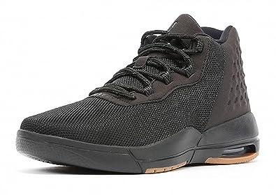 Nike Kids Jordan Academy BG Basketball Shoe (3.5 Y, Black)