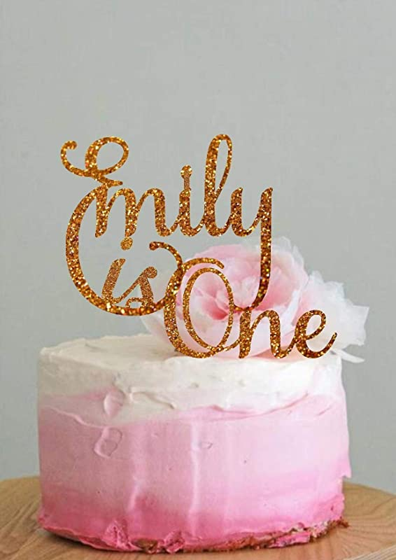 Personalised Custom 1st 2nd 3rd 4th any age Birthday Cake Topper