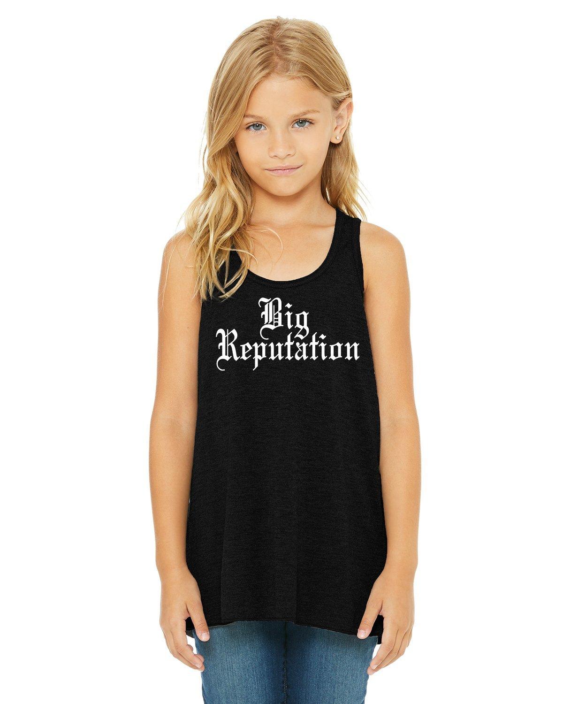 LivingTees Big Reputation Youth Tank Top T Shirt/Tour Shirt