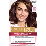 L'Oréal Paris Excellence Creme, 5.15 Natural Frosted Brown (100% Grey Coverage)