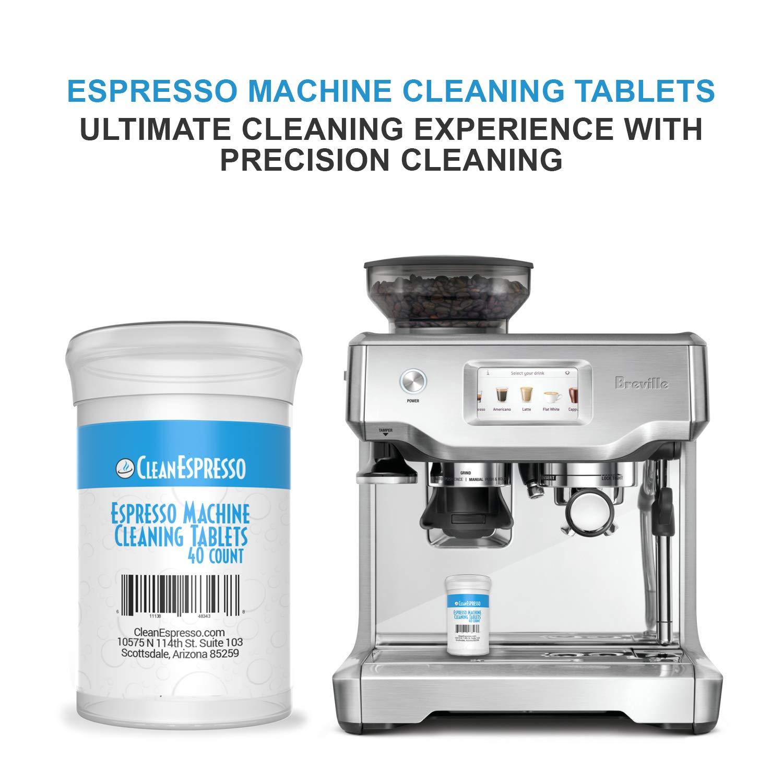 Máquina de café Pastillas de limpieza - cleanespresso modelo br-020 - para Breville Espresso Máquinas blanco: Amazon.es: Hogar