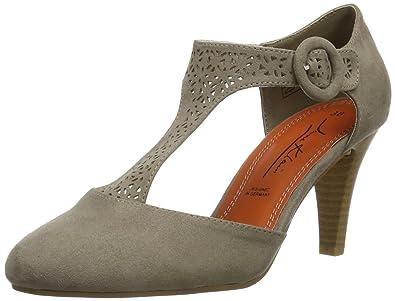 Chaussures Jane Klain grises femme SWZnKaV