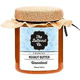 The Butternut Co. Unsweetened Peanut Butter, Crunchy, 200g