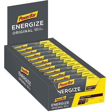 Powerbar Barritas Energéticas Sabor Galletas y Crema - 25 Barras