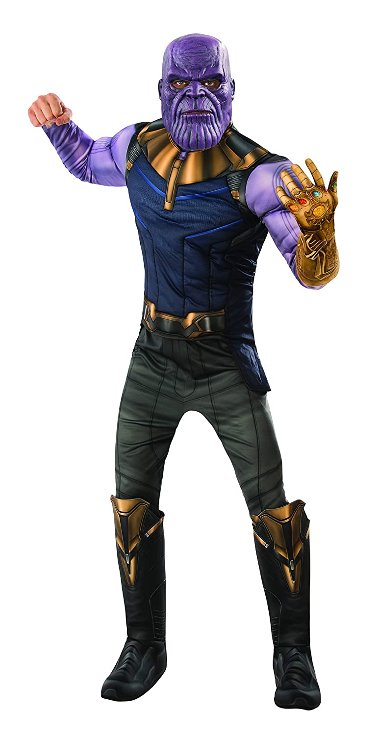 Amazon.com: Rubies Mens Marvel Avengers Infinity War Thanos Deluxe Costume, X-Large: Clothing