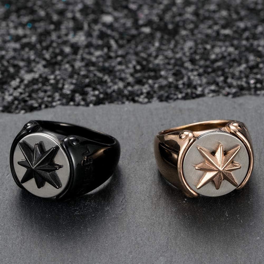 Excow Jewelry Jewish Star of David Inlay Eight AWN Star Vintage Fashion