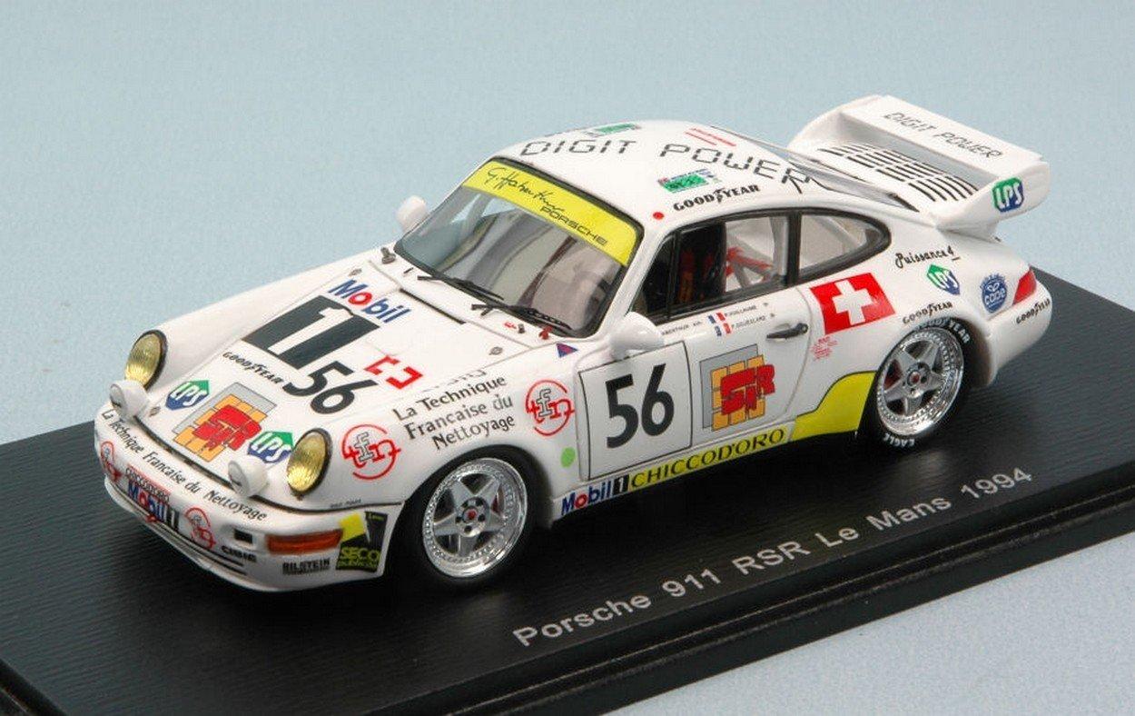 Spark Model S4444 Porsche 911 RSR N.56 DNF LM 1994 VUILLAUME-GOUESLARD 1:43