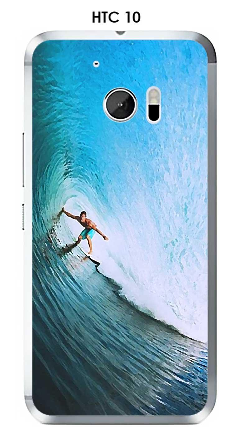 Onozo Carcasa HTC 10 Design Surfista en la Ola: Amazon.es ...