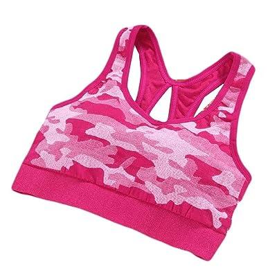 buildup Women's Tank Tops Camo Weekend Bra Yoga Comfort Mid Sports Bra
