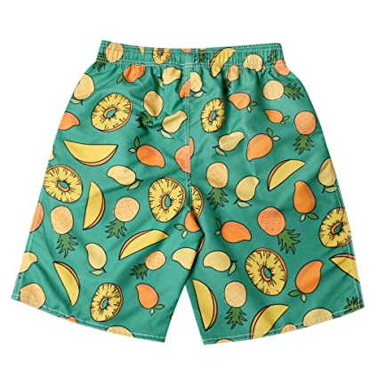 dac5c458c8 Image Unavailable. Image not available for. Colour: Mens Swim Trunks Quick  Dry 3D Printed Board Shorts ...