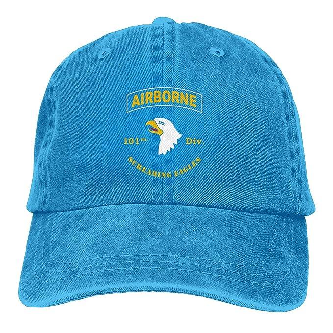 Novelcustom UNAirborne 101 Denim Dad Hats Gorra de béisbol ...