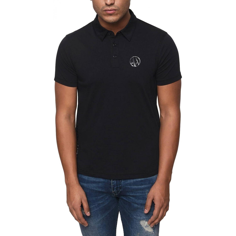 793349a02 Armani Exchange Men T-Shirt Polo 3ZZF91 ZJH4Z  Amazon.co.uk  Clothing