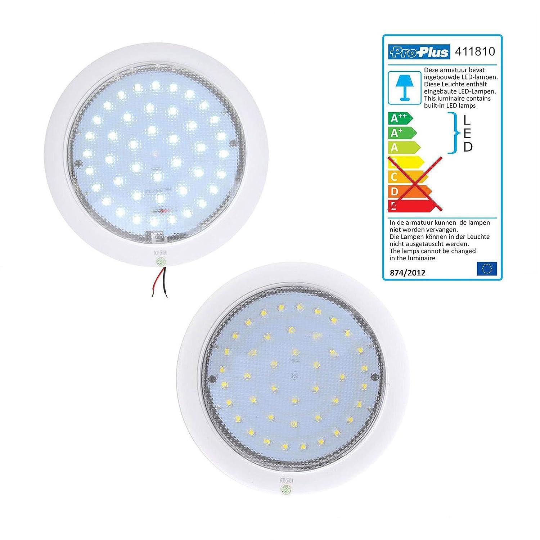 Diameter 220x50 mm Caravan Motorhome Boat Interior Lighting 840 lm LED Ceiling Light 12/V 8.5/W