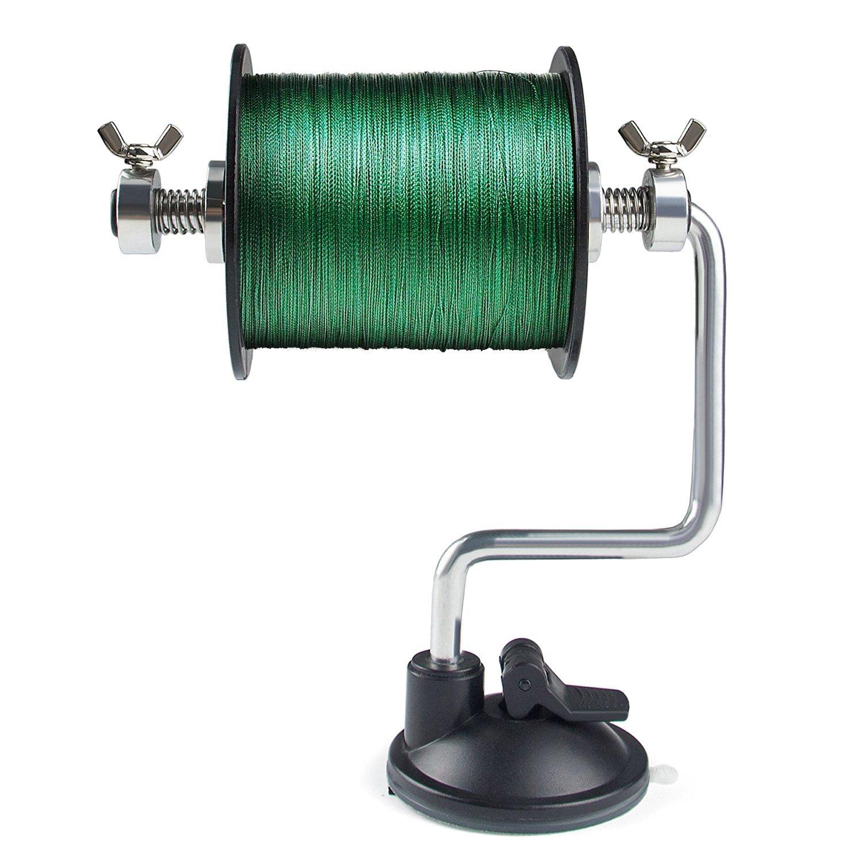 Sopito Portable Fishing Line Spooler Adjustable for Varying Spool Sizes