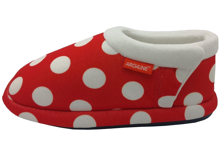 0fecb0414f Archline 2018 Model Womens Closed Toe Comfort Orthotic Slippers - Size: 7  US Or 38 EUR - Color Grey Marl: Amazon.com.au: Fashion