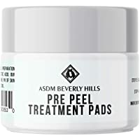 ASDM Beverly Hills Pre Peel Pads 40 Treatments, Medical Strength AHA Chemical Peel...