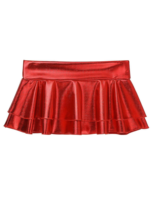 Agoky - Mini Falda de Danza para Mujer, Sexy, Falda de gogo, Falda ...
