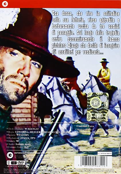 Amazon.com: Django Unlimited (4 Dvd): franco nero, rada rassimov, sergio garrone: Movies & TV