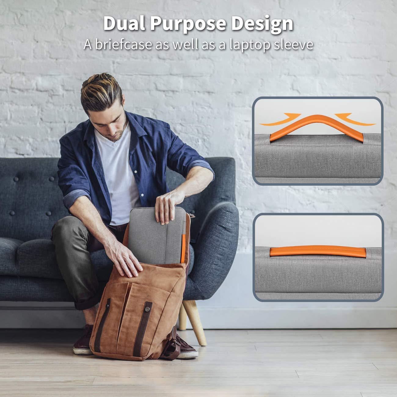 MacBook Air 13 2018 MacBook Pro 13 2016-2018 Gris Pochette Tablette 13 Pouces Inateck Housse 12,3-13 Pouces Compatible avec Surface Pro 6//5//4//3