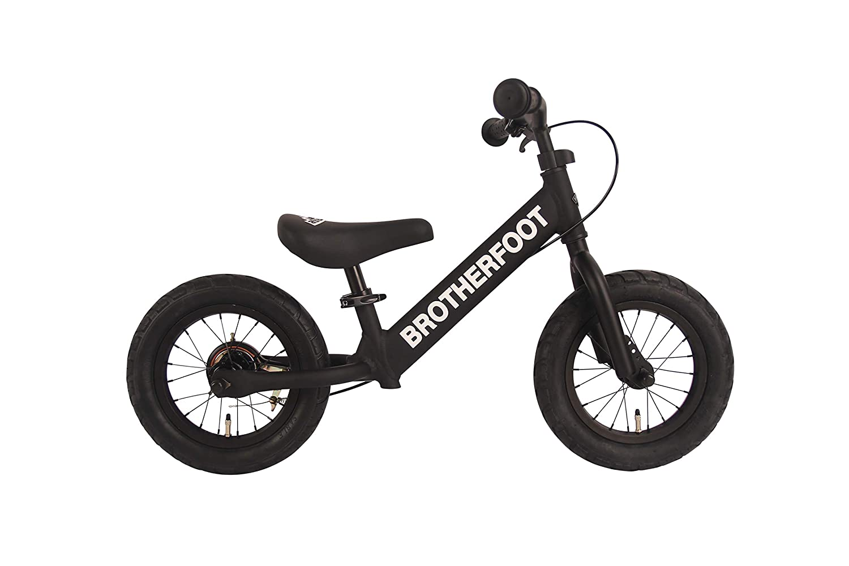ブラザーフット(BROTHER FOOT) キッズ用キックバイク THE FIRST TRACK 12 BFFT-021 BLACK(ブラック) BFFT-021 ブラック   B07KRBR9YT