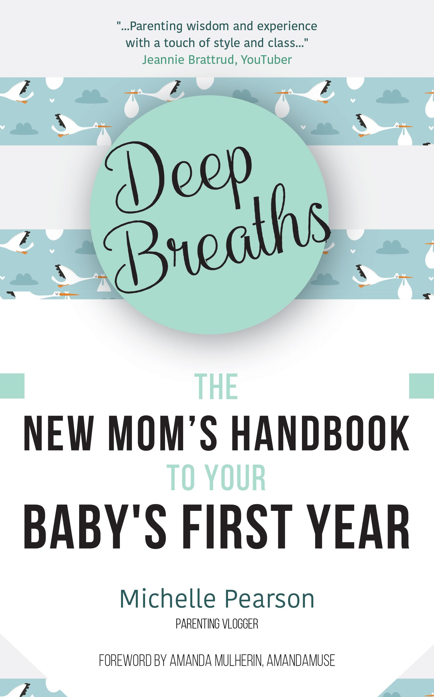 Deep Breaths: The New Mom's Handbook to Your Baby's First Year: Michelle  Pearson, Amanda Mulheron: 9781633536432: Amazon.com: Books