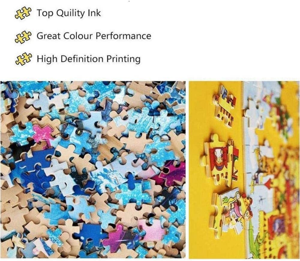 HU0QWPKU Beautiful Mountain And River Landscape Wooden Jigsaw Puzzle Adult Family Puzzle Gift Children'S Intellectual Development Toys,1500Piece 500 Piece