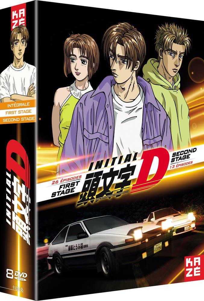 initial d carreras japonesas manga y anime