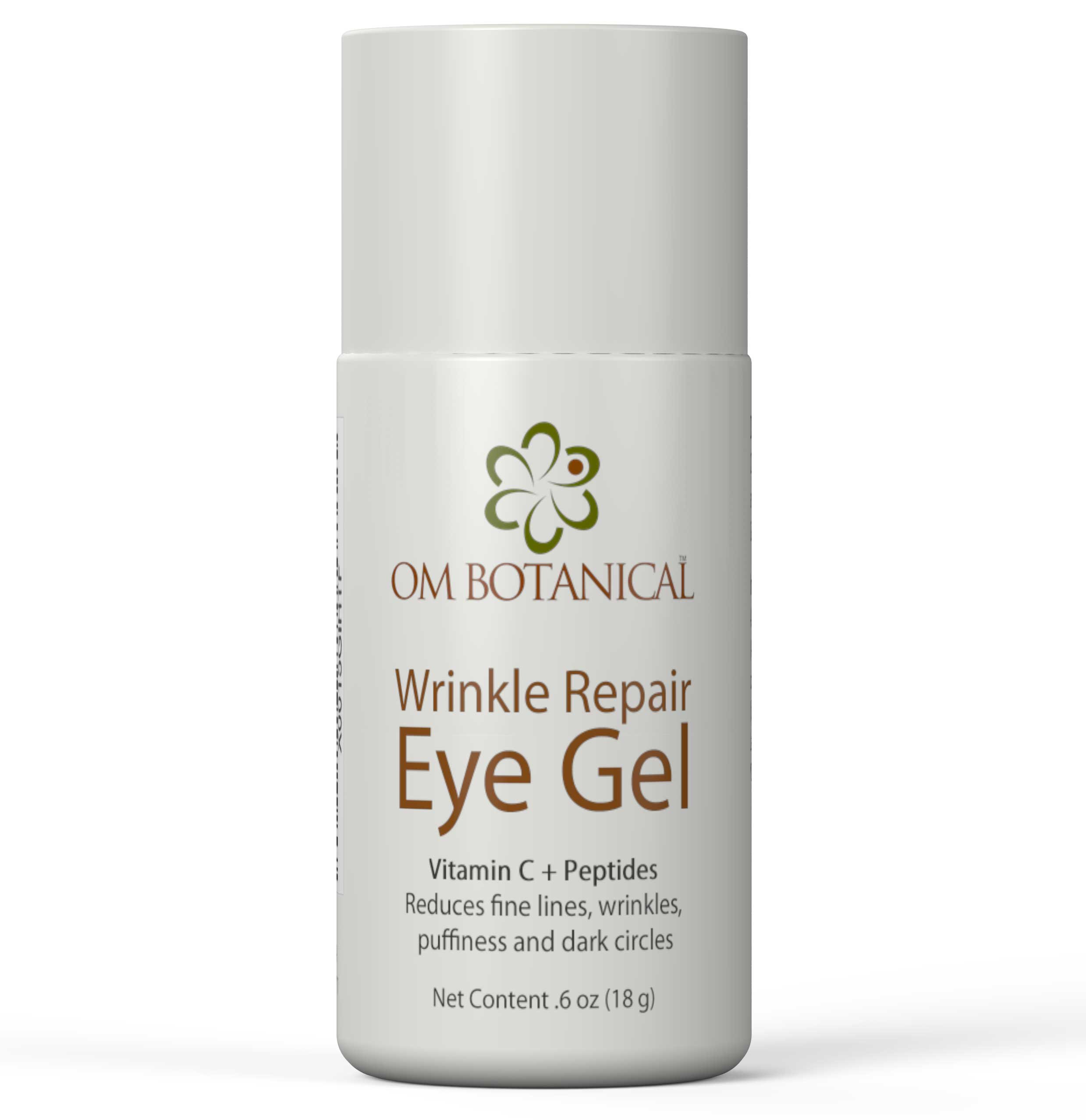 Eye Gel w/Peptides, Vitamin C, Cucumber For Wrinkles, Under Eye Bags and Dark Circles   Safest All Natural Under Eye Cream With Organic Argan Oil   Day & Night Anti-Aging Treatment For Men & Women