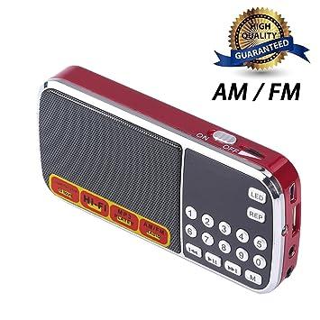 Unterhaltungselektronik Blau Schwarz Rot Mini Tragbare Digitale Stereo Fm Mini Radio Lautsprecher Musik Player Mit Tf Karte Usb Aux Eingang Sound Box