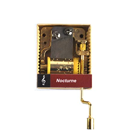 Caja de música de manivela: Chopin - Nocturne