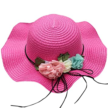6ba72377 Image Unavailable. Image not available for. Color: Clearance Sale! Straw Sun  Hat for Little Gilrs, Iuhan Toddler Kids Girl Multi-