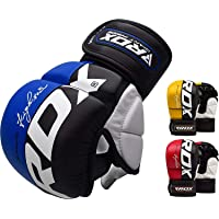 M.A.R International Ltd Full-Finger Open Palm Design Rex Leather Kung-Fu Cobra Gloves for Light Contact Sparring and Grapping