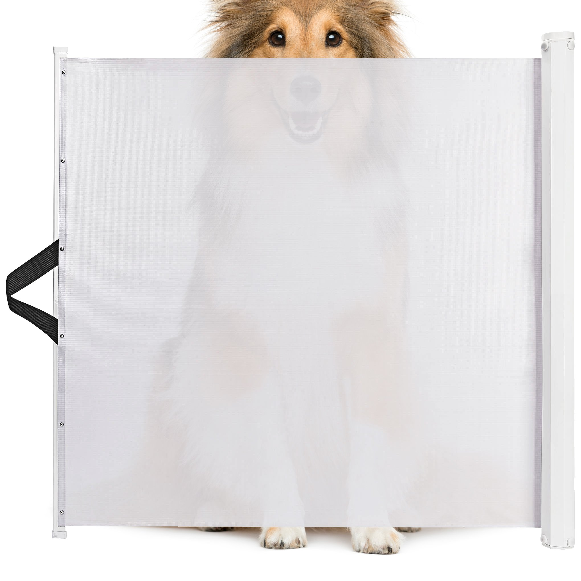 Animals Favorite Pet Retractable Safety Gate, Indoor and Outdoor Protection (Safety Gate)