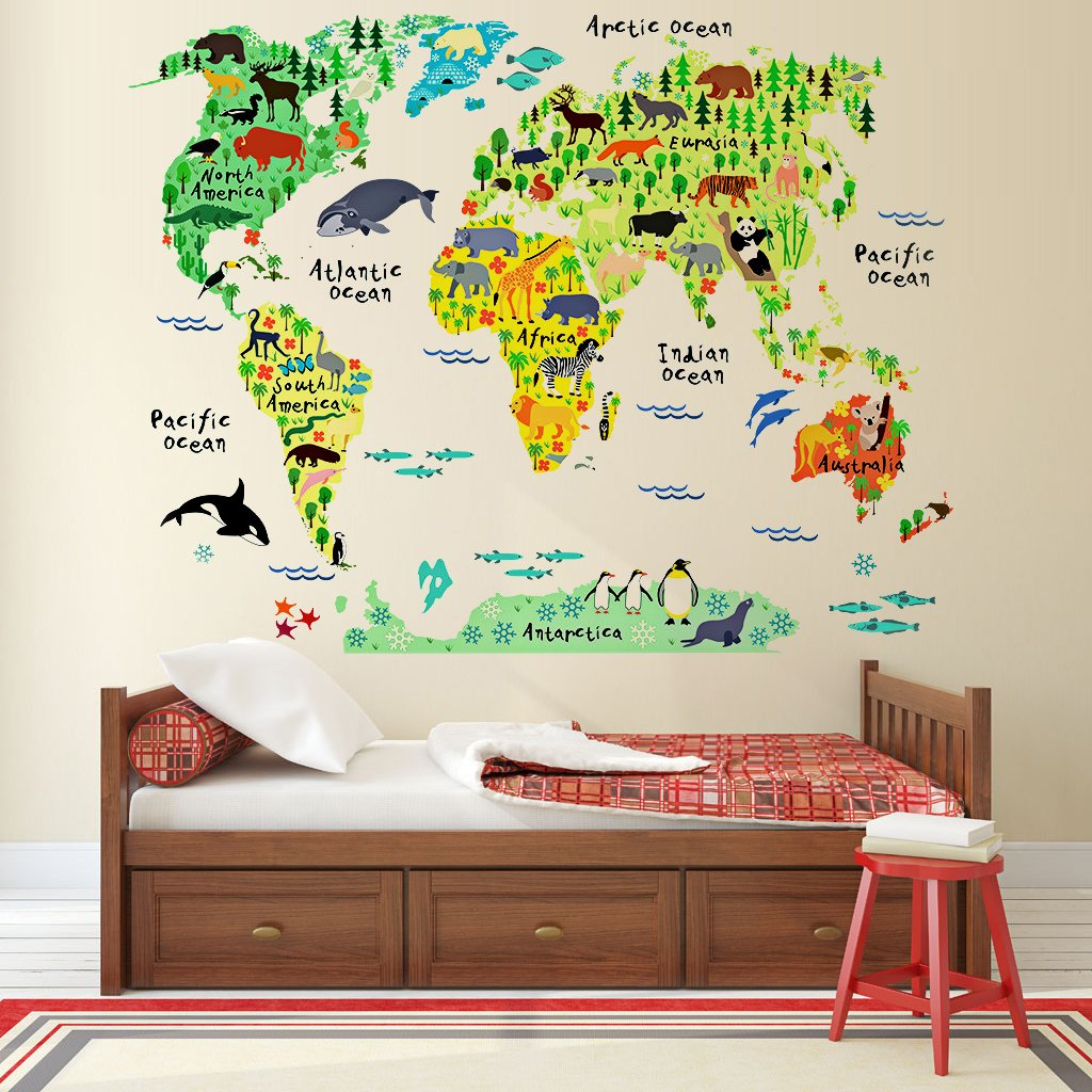 World map wall decal target best wall 2018 designs world map wall sticker south africa with gumiabroncs Image collections