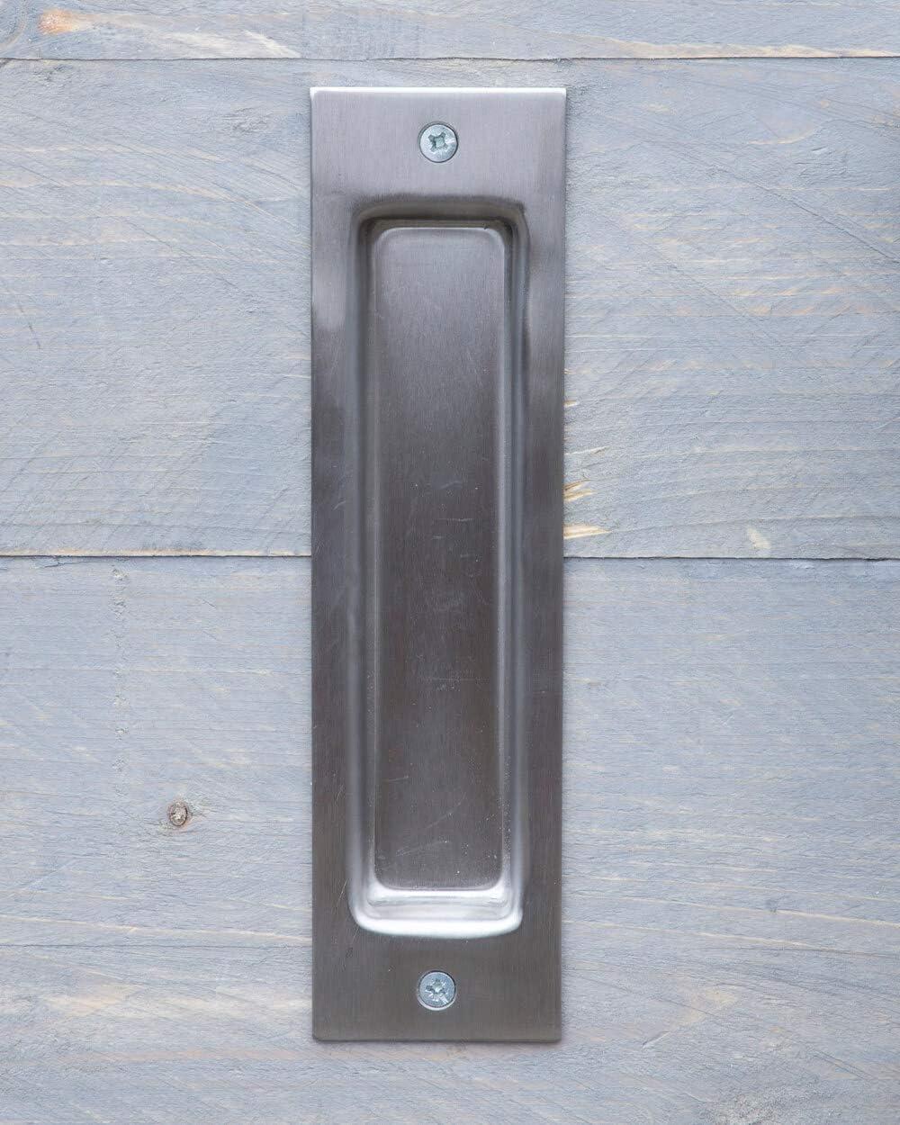 Tirador de puerta de acero inoxidable para puertas correderas y puertas: Amazon.es: Bricolaje y herramientas