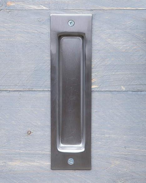Tirador de puerta de acero inoxidable para puertas correderas y ...