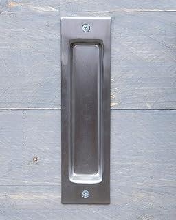2 Piezas oval empotrada Flush tirador para puerta corredera oculta oculta Tornillo para puerta corredera de armario, o de cajón: Amazon.es: Bricolaje y herramientas