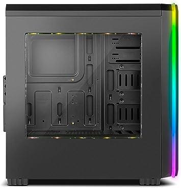 Nox Hummer MC PRO ARGB -NXHUMMERMCPROB- Caja PC, Semi-Torre, tira ...