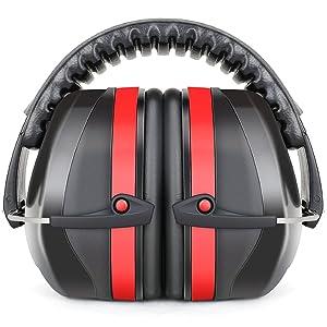 Fnova 34dB Highest NRR Safety Ear Muffs