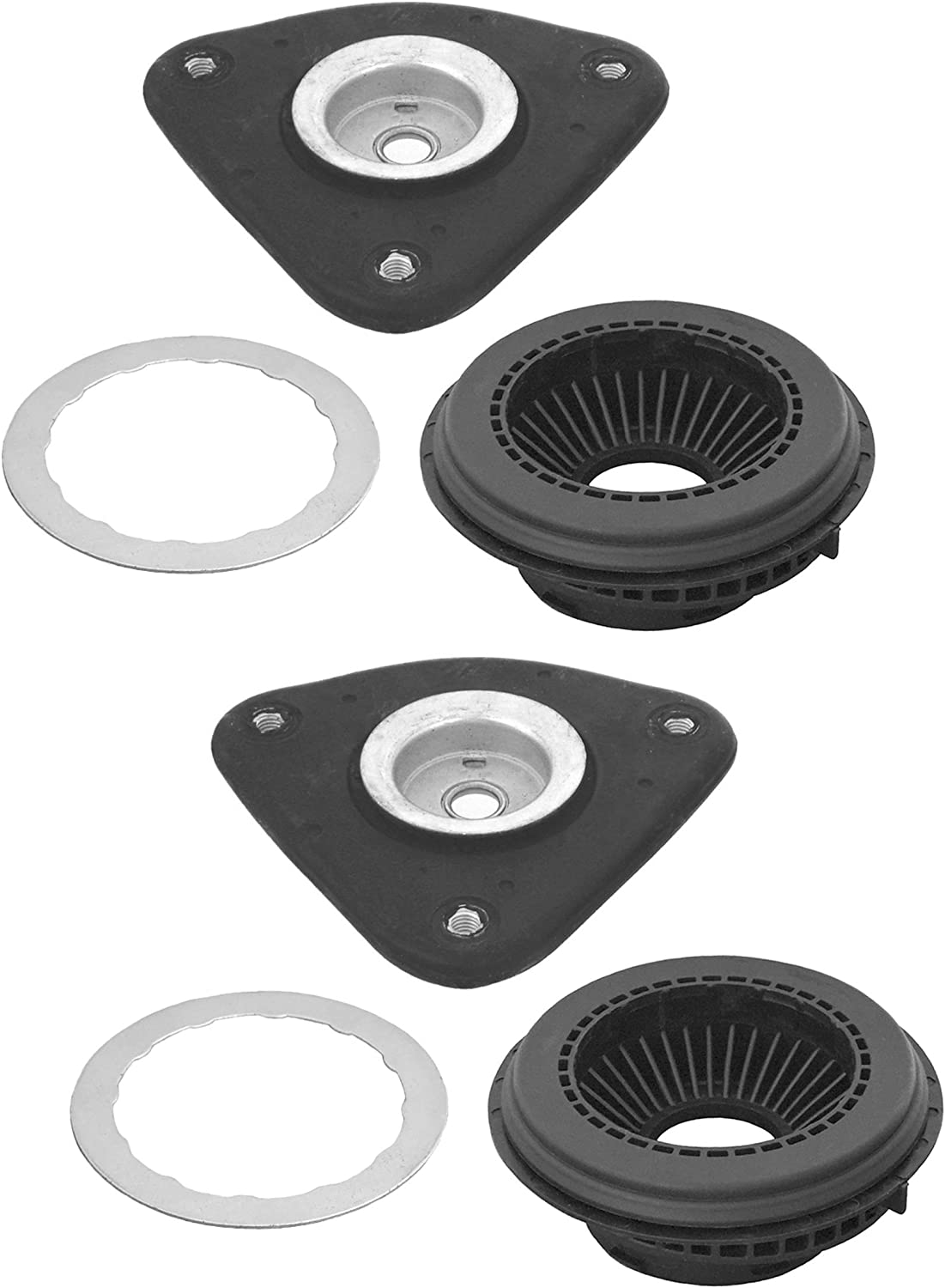 Pair Set of 2 Front KYB Suspension Strut Mount Kit For Cadillac Chevrolet GMC