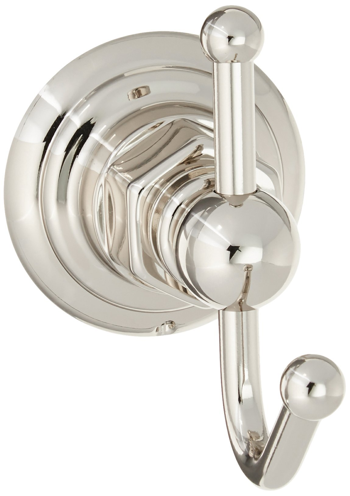 Rohl ROT7PN Country Bath Single Robe Hook in Polished Nickel by Rohl