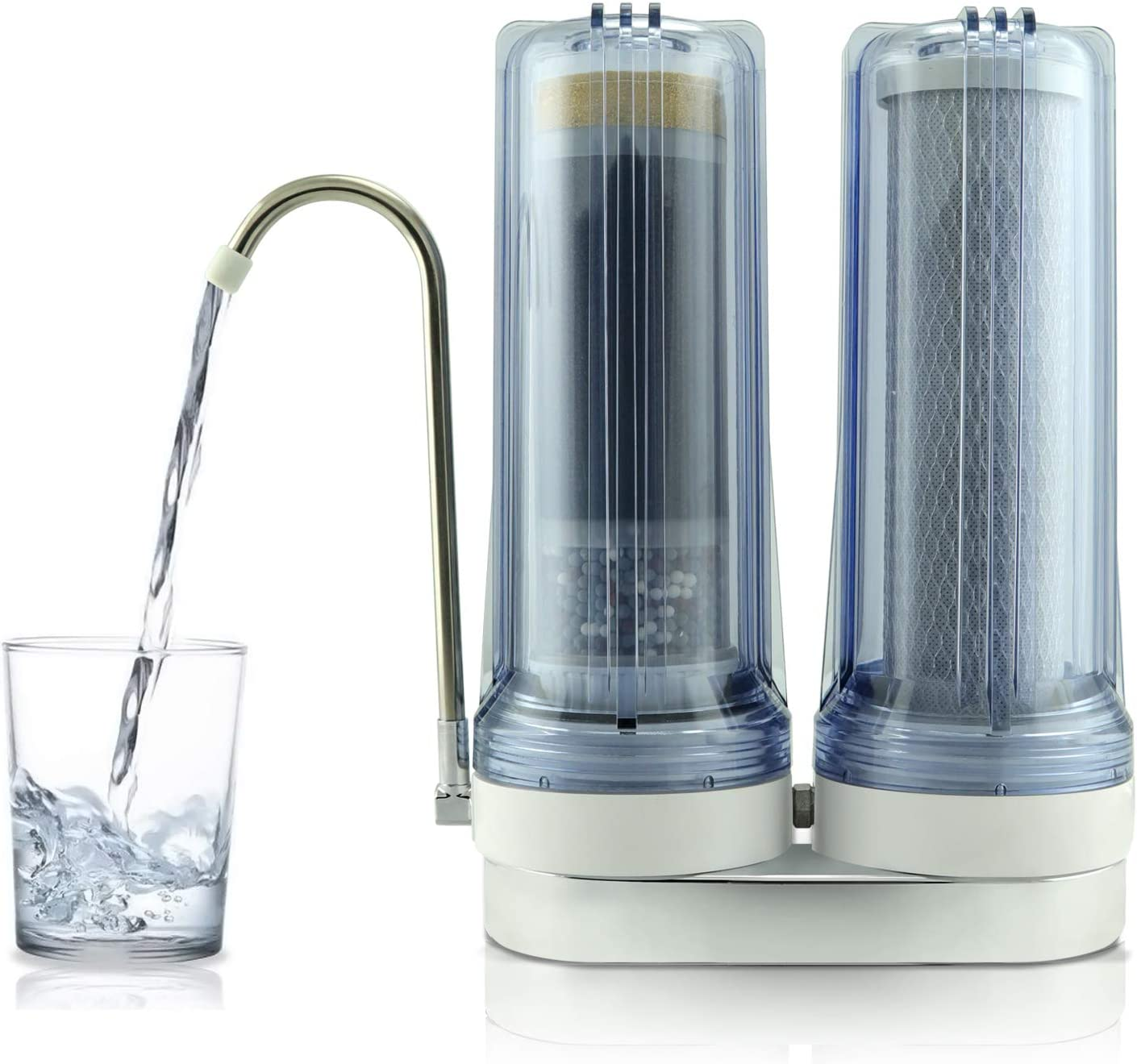 Apex. Exprt MR-2050 - Filtro de agua potable con doble encimera, 0 ...