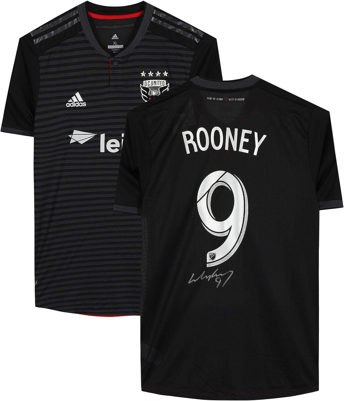 Wayne Rooney D.C. United Autographed Black Adidas Authentic Jersey ...