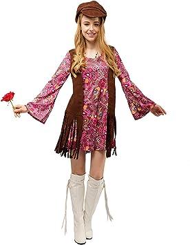 SEA HARE Disfraz de Disfraces de Hippie para Mujer Adulta de los ...