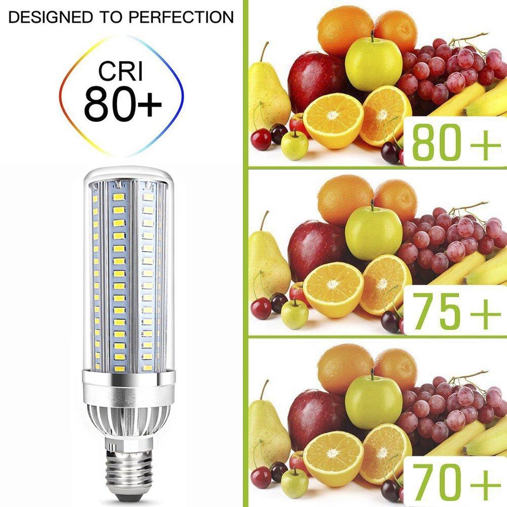 Lampadine led e27 25W LED Mais lampada Equivalenti 250W Bianco Freddo 6500K 2500LM Super Luminosa Non Dimmerabile