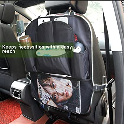 Truck Paperwork Organizer Car Seat Portable Cargo Pocket Holder Boot Unique Design Adjustable Buckle System Easily