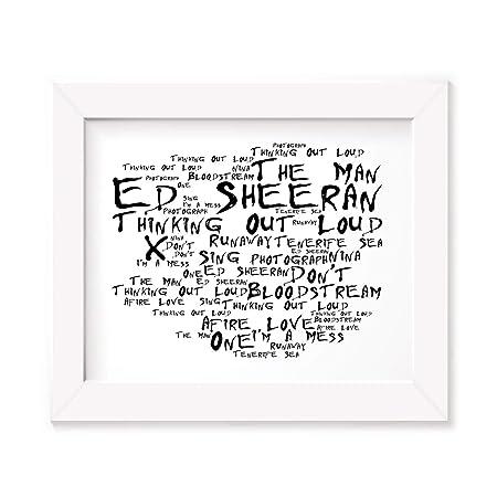 Ed Sheeran Poster Print
