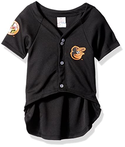 a2f1773a7 Amazon.com   Pets First MLB Baltimore Orioles Dog Jersey